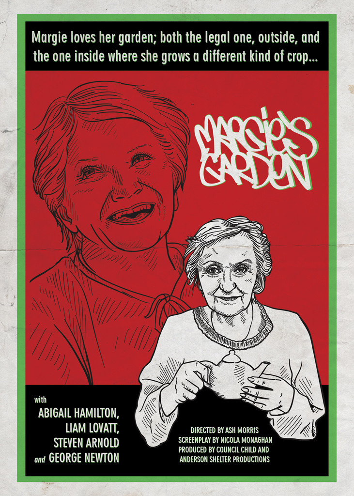 Margie's Garden propaganda poster