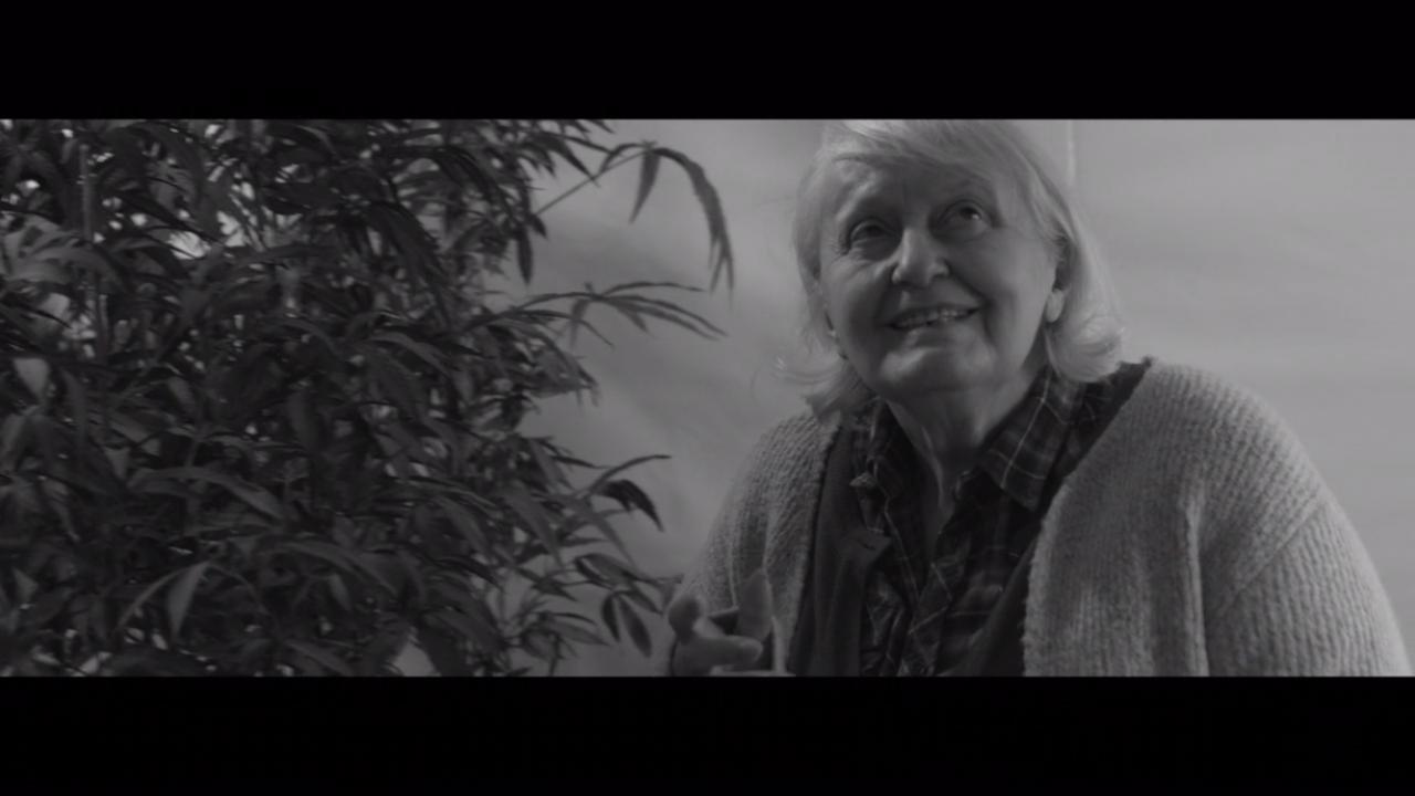 Video clip of Margie and pot plants
